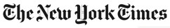 The New York Times Logo 25pcent